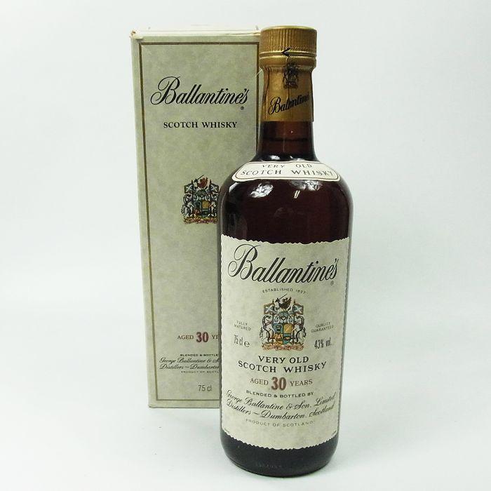 バランタイン 30年 ウイスキー 43% 750ml お買取りしました!