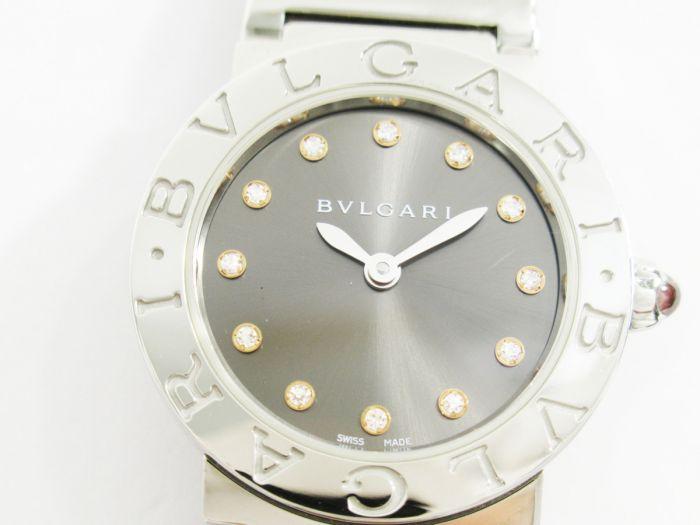 ブルガリ 12Pダイヤ レディース 腕時計 BBL26S